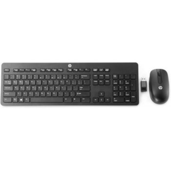 Клавиатура и мышь Wireless HP N3R88A6 Black USB