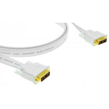 Кабель интерфейсный DVI-DVI Kramer C-DM/DM/FLAT(W)-50