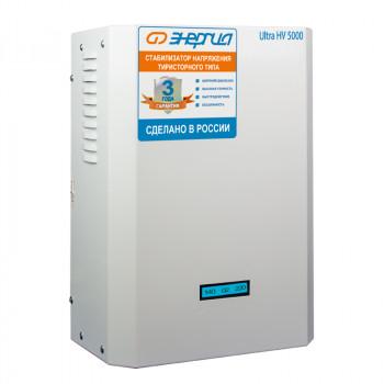 Cтабилизатор Энергия 5000 ВА серии Ultrа (HV)