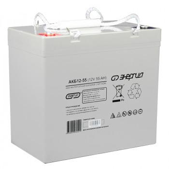 Аккумулятор Энергия АКБ 12-55