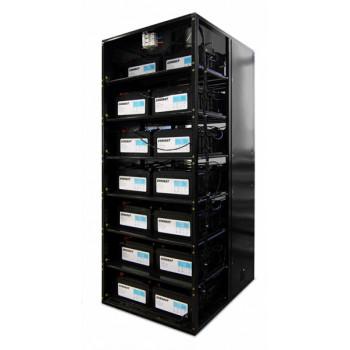 Батарейная емкость ИМПУЛЬС 100Ач в кабинете 1500 (744В)