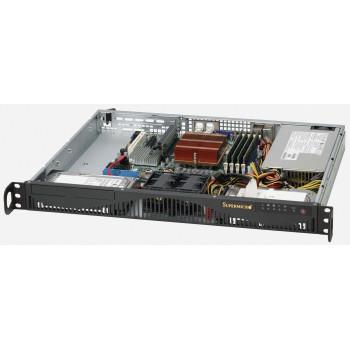 Корпус серверный 1U Supermicro CSE-512F-520
