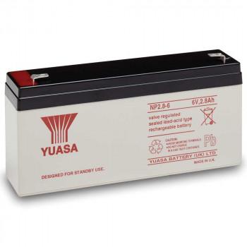 Аккумуляторная батарея Yuasa NP 2.8-6