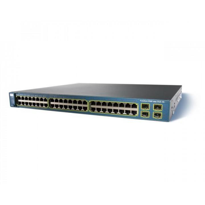 Коммутатор CISCO WS-C3560G-48PS-E