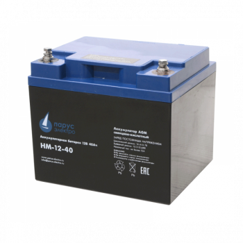 Аккумулятор Парус электро HM-12-40