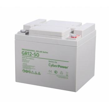 Аккумулятор CyberPower PROFESSIONAL solar series (gel) GR 12-50