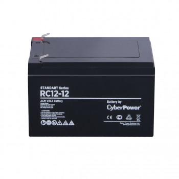 Аккумулятор CyberPower STANDART series RC 12-12