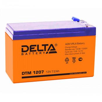 Аккумуляторная батарея Delta DTM 1207