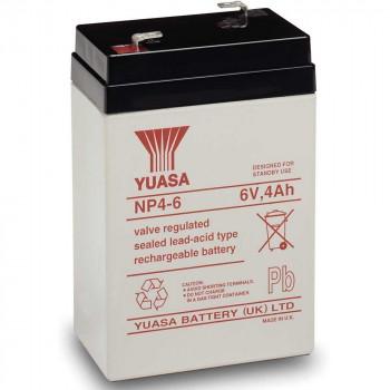 Аккумуляторная батарея Yuasa NP 4-6