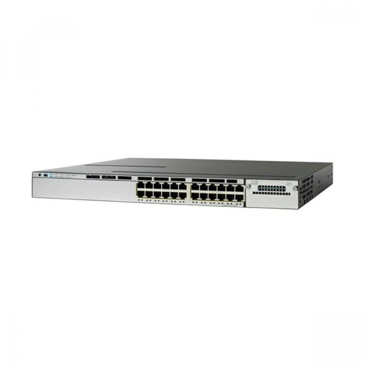 Коммутатор CISCO WS-C3850-24PW-S