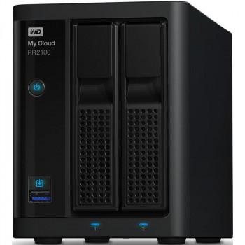 Сетевое хранилище Western Digital WDBVND0000NBK-EEUE