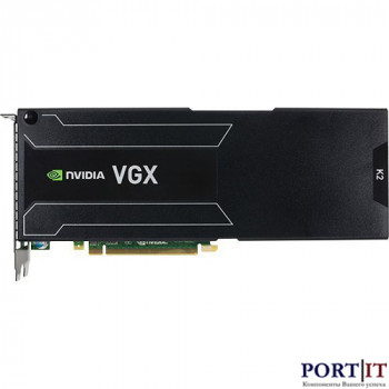 Видеоускоритель NVIDIA GRID K2 (P2055-A03), 900-52055-0020-000