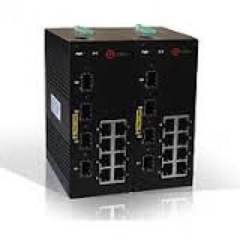 Индустриальный управляемый коммутатор Qtech QSW-2100-16T-4GSFP-DC