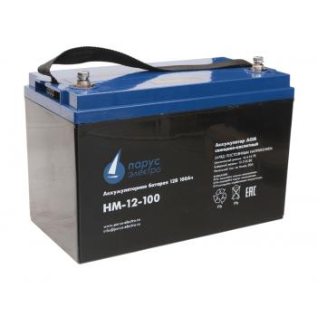 Аккумулятор Парус электро HM-12-100