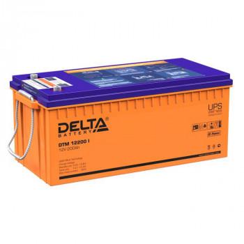 Аккумуляторная батарея Delta DTM 12200 I