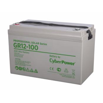 Аккумулятор CyberPower PROFESSIONAL solar series (gel) GR 12-100