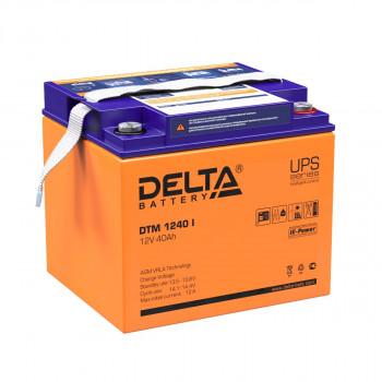 Аккумуляторная батарея Delta DTM 1240 I