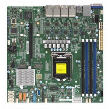 Материнская плата mATX Supermicro MBD-X11SCM-LN8F-O