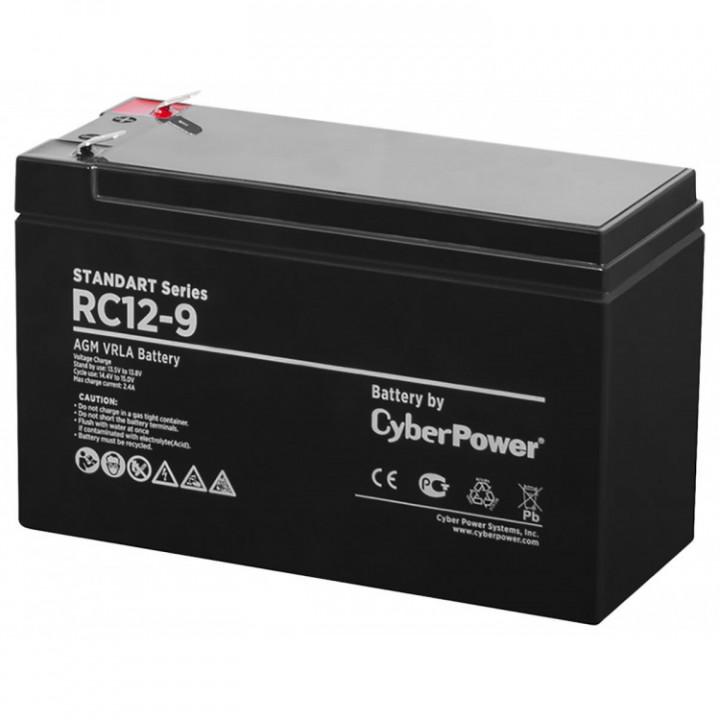 Аккумулятор CyberPower STANDART series RC 12-9