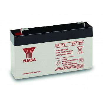 Аккумуляторная батарея Yuasa NP 1.2-6