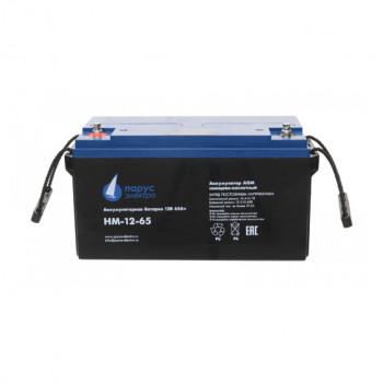 Аккумулятор Парус электро HM-12-65